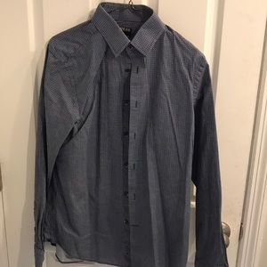 Express Modern Fit Button Down. Size Small 14-14.5